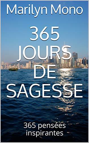 Couverture du livre 365 jours de sagesse: 365 pensées inspirantes