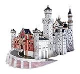 UMBUM 157 - Schloß Neuschwanstein/Bayern, Premium 3D-Puzzle aus hochwertigem Karton, 342 Teile, detailgetreuer Modelbau
