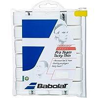 Babolat Uni Pro Team Tacky Overgrip Pack of 12, One Size, White