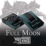 SOLOMAGIA Mazzo di carte Bicycle Werewolf Full Moon Playing Cards (Standard Edition) - Mazzi di carte da gioco - Giochi di Prestigio e Magia