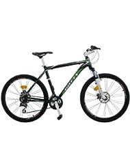 """Bicicleta de montaña Gotty COOL, 26"""" Aluminio Hidroformado, 21 velocidades, con suspensión de aluminio y frenos de disco"""
