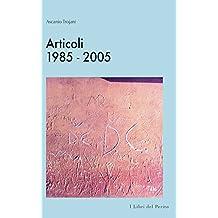 Articoli 1985-2005 : I Libri del perito - III