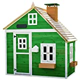 Garden Games Limited Whacky Mansion Pre handbemalte Holz Play House