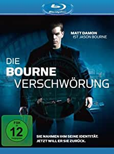 Die Bourne Verschwörung [Blu-ray]