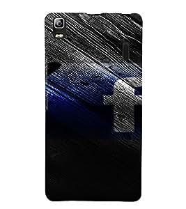 PrintVisa Butterfly Facebook 3D Hard Polycarbonate Designer Back Case Cover for Lenovo A7000