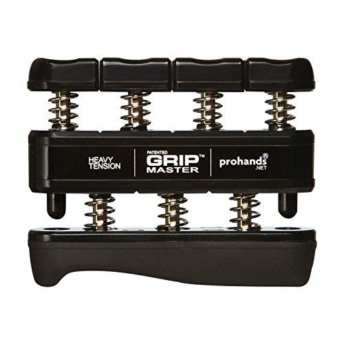 prohands-by-gripmaster-medical-aparato-entrenador-de-dedos-color-negro-resistencia-9-lbs