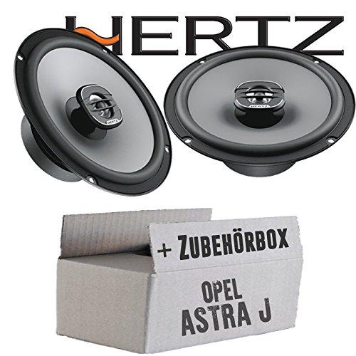 Opel Astra J - Lautsprecher Boxen Hertz X 165-16cm Koax Auto Einbauzubehör - Einbauset