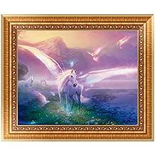 Autone DIY 5D pittura cavallo angelo diamante ricamo a punto croce Craft Home Decor kit
