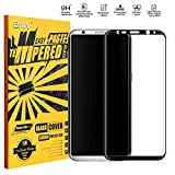 ELV galaxy s8 plus Tempered Glass Screen Protector Anti-Scratch protective Screen guard for Samsung Galaxy S8 Plus / S8+ -Black