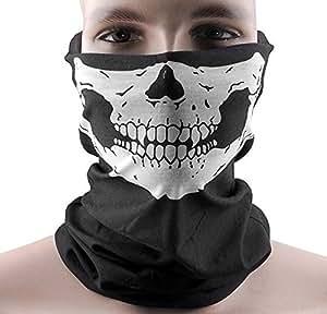 CITY crâne squelette ski vélo Cyclisme moto Rave masque de crâne protégeant du vent