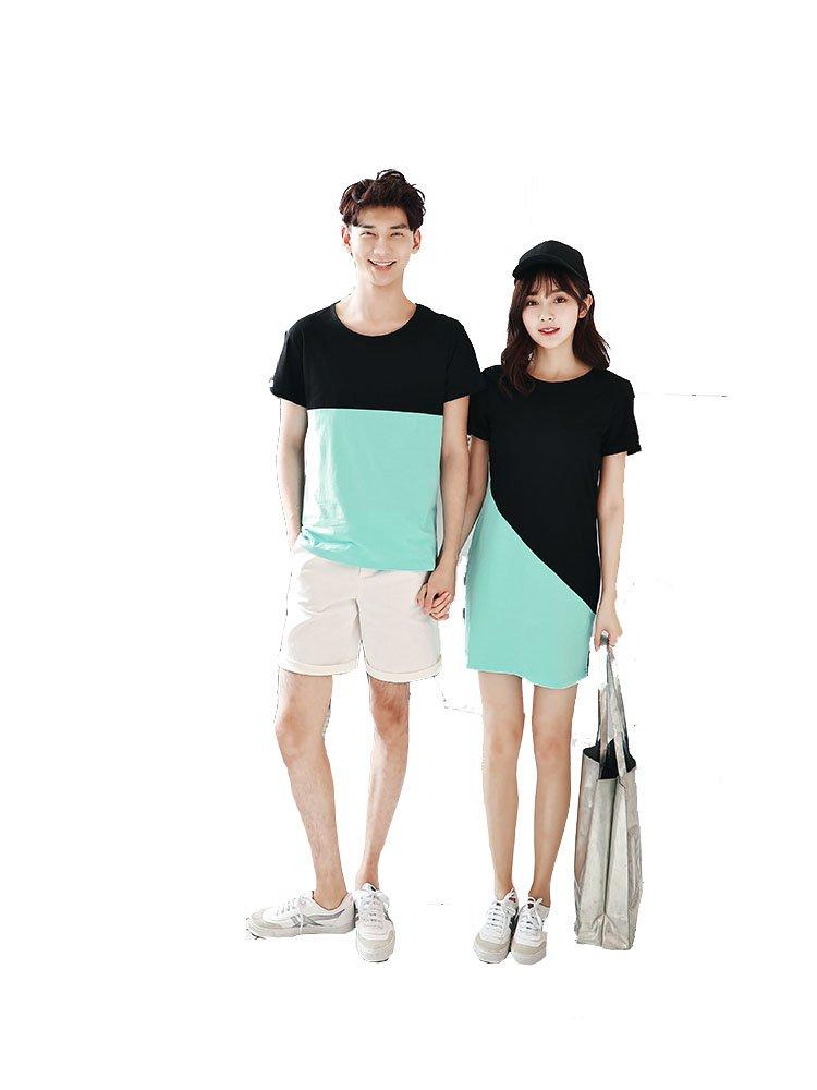 38eaf4dc Melcom Cotton Couple T Shirt Combo (Multicolour) – Buy Bestow