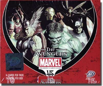 Marvel VS System Trading Card Game The Avengers Booster Box 24 Packs [Toy] (Vs-system-box)