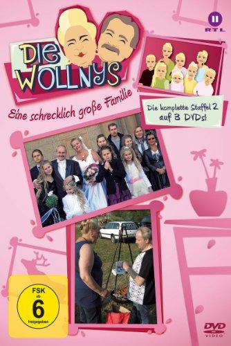 Die Wollnys - Eine schrecklich große Familie: Die komplette 2. Staffel auf 3 DVDs! hier kaufen