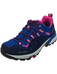 Tecnica - T-cross low gtx ld blue - Chaussures marche randonnées