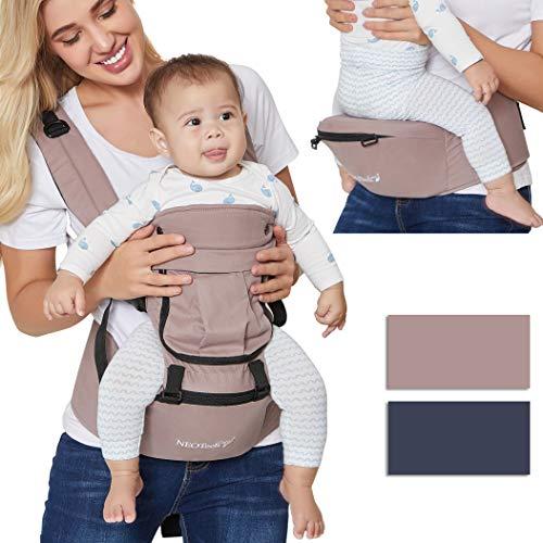 DE Kleinkind Baby Kinder Taille Hocker Walker Tragegurt Halten Hüfte Hüfte 0-3Y
