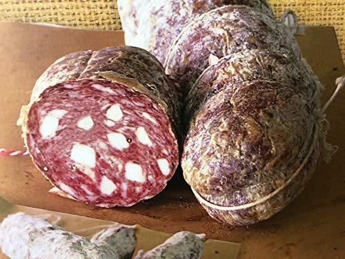 Salame Toscano Nero di Maremma 250/300 gr - SALUMIFICIO FATTORIA CASTEANI - Toscana