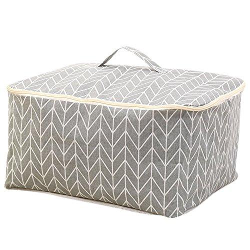 Gespout Quilt Taschen Kleidung Finishing Aufbewahrungsbox Quilts Aufbewahrungstasche Faltbare mit Reißverschluss Jumbo Bag Lagerung Bekleidung Aufbewahrungsboxen Bekleidung Aufbewahrungsboxen (Quilt Tasche)