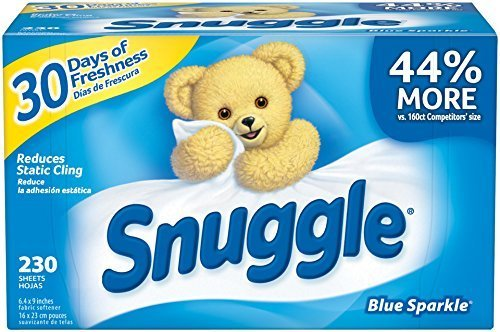 snuggle-blue-sparkle-fabric-softener-sheets-230-count-by-snuggle