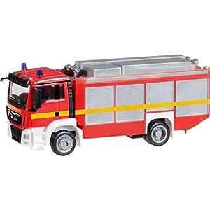 Herpa 091077-002Man TGS M Euro 6rüstwagen rw2Bomberos, vehículos en Miniatura