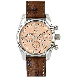 Bello & Preciso italienische Armbanduhr Modell Crono Cipria