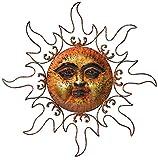 Regal Art und Geschenk 10050Marmor Sonne Wanddekoration, Bronze (Auslaufmodell)