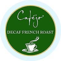 Cafejo K-Cups, Decaf French Roast Coffee, 24 Count, 4.4 oz