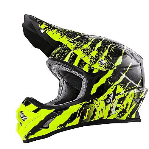0623-433 - Oneal 3 Series Mercury Motocross Helmet M Black Hi-Vis