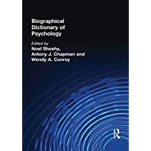 Biographical Dictionary of Psychology (Routledge World Reference) (English Edition)