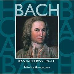 """Cantata No.111 Was mein Gott will, das g'scheh allezeit BWV111 : II Aria - """"Entsetze dich, mein Herze, nicht"""" [Bass]"""