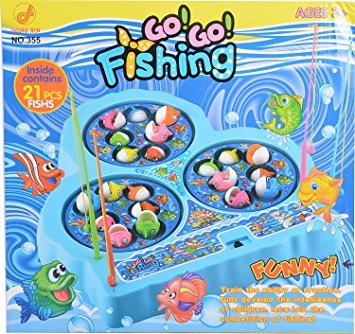 TOY WORLD - Go Go Fishing Set (Multi-Color)T
