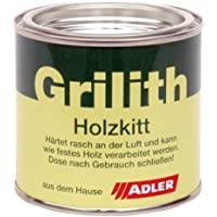 ADLER Grilith Holzkitt 200ml Schwarz Holzreparatur Kitt Spachtel für Holz