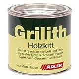 ADLER Grilith Holzkitt 100ml Schwarz Spachtelmasse Kitt für Holz Möbel Holzspatel