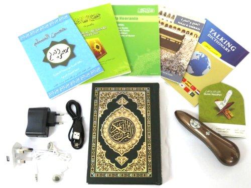 Digitaler Heiliger Koran Lesestift mit Qaida Noorania und Hajj & Umrah Audio Guide - Word by Word FATURES FÜR Beginner