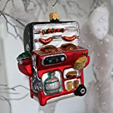 Christbaumschmuck Figuren Glas ( BBQ Gas Grill  ) // Weihnachtskugeln Weihnachtsbaumschmuck Christbaumkugeln Deko Glas Glashänger