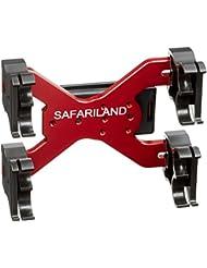 Safariland 086Compartiment 8cartouches de Chasse Support avec clip ceinture Holster, sl086–8–35–744bl