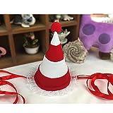 LDFN Tier Bunt Hundehut Red Hat Geburtstag Party Weihnachten Hüte Mehrfarben Ein Satz 1,Red-L