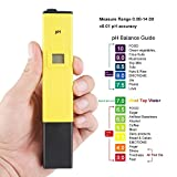 #9: SAFESEED Digital LCD Pocket Pen type pH meter for Water purity Pool Aquarium measurement
