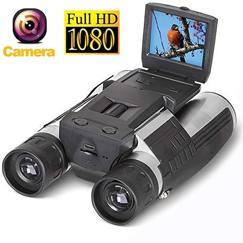 MCJL 1080p binokuläres Digitalteleskop 12x32 HD 2.0 \' \' Bildschirm 5 Megapixel Kamera USB-Zoom-Kamera-Videoaufzeichnung