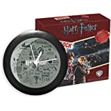 MC SID RAZZ Harry Potter - Grey, Table Clocks for Office, Home Décor, Official Licensed by Warner Bros, USA