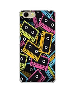 Mintzz Silicon Printed Back Cover For Panasonic P55