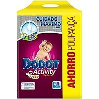 Dodot - Activity Toallitas - 4 paquetes 216 toallitas - Pack de 3 (Total 648