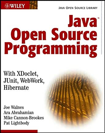 Java Open Source Programming: with XDoclet, JUnit, WebWork