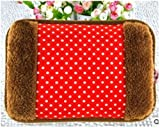 #7: Electric Hot Bag, Hand warmer, Electric heater Warm bag, Heating Gel Pad Velvet with Hand Pocket Pain Relieve by GENXTRA (Assorted)