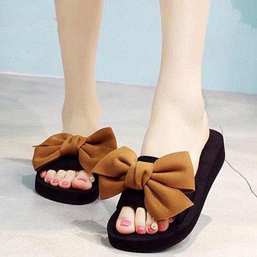 Estate Sandali Pantofole estive pattinate Pattini da spiaggia sandali Pantofole Colore / formato facoltativo 1006