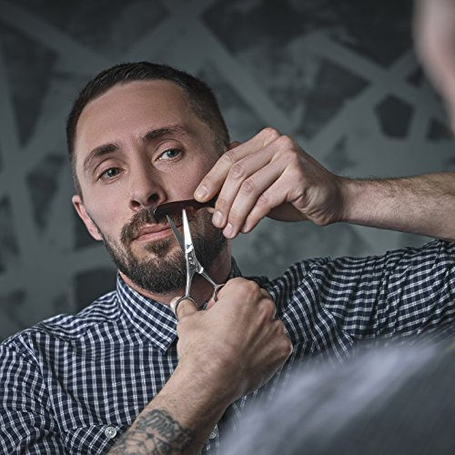 Beard-Moustache-Scissors-With-Comb-For-Precise-Facial-Hair-Trimming-Sharpness-and-Stainless-Steel-Give-These-Scissors-Durability-That-Will-Last-Pouch-and-Box-Protect-The-Set-Order-Yours-Now