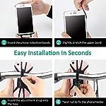Cocoda-Porta-Cellulare-Bici-Rotabile-a-360-Regolabile-Universale-Silicone-Porta-Telefono-Moto-Bici-per-iPhone-XXSXR87-Samsung-Galaxy-S10S10eS10-PlusA50-Xiaomi-Redmi-Note-7-huawei-p20-lite
