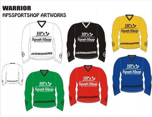 Warrior Spezial Trainingstrikot HP´s Sport Shop Edition, Größe:M, Farbe:rot