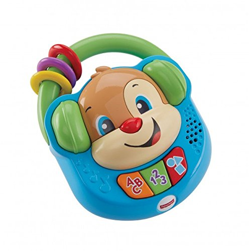 Fisher-Price Sing and Learn Music Player, Baby Electronic Educational Toy with Sounds, Songs and Phrases