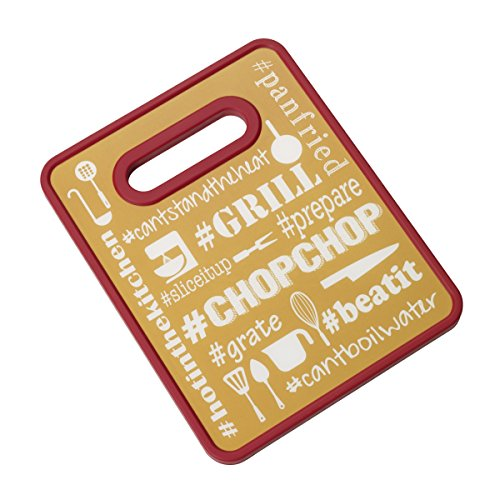 non-antideslizante-farberware-hashtag-tabla-de-cortar-rojo-oro-8-x-254-cm
