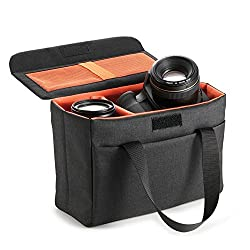 Koolertron Waterproof Dslr Slr Camera Insert Bag Camera Inner Case Bag For Sony, Canon, Nikon, Olympus